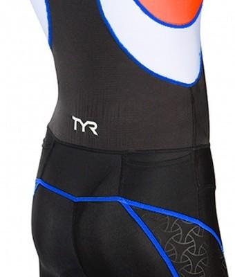 competitor trisuit ryg