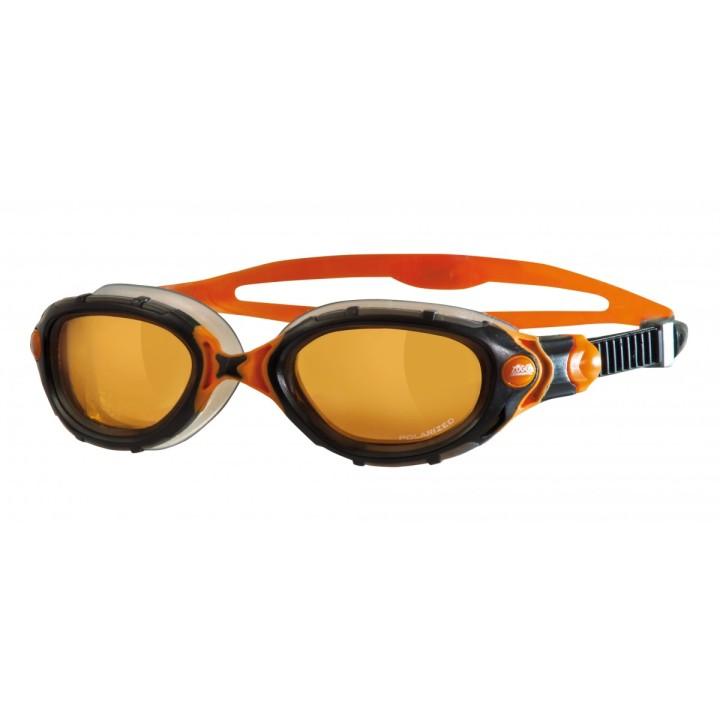 Predator Flex Polarized sort-orange