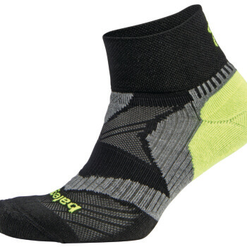 Enduro V Tech Quarter - Black_Grey_Neon Yellow